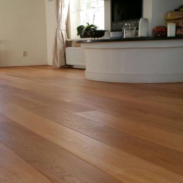 Eikenhouten vloer Friesland