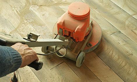 Renovatie of schade herstel van uw houten vloer parketboerderij